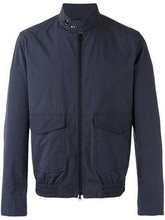куртка бомбер с высокой горловиной Fay