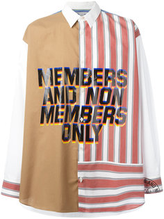 рубашка Member and Non Members Only  Stella McCartney