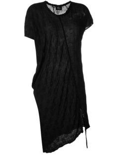 платье-футболка с драпировкой Lost & Found Ria Dunn