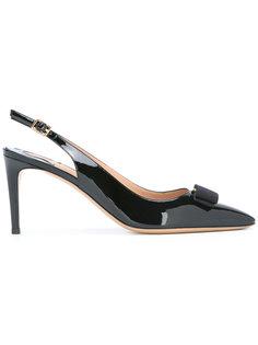 туфли-лодочки с открытой пяткой Salvatore Ferragamo