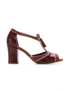 chunky heel pumps Sarah Chofakian
