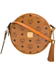 круглая сумка через плечо MCM