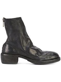 ботинки с задней молнией Guidi