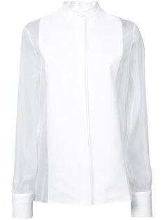 прозрачная блузка Lanvin