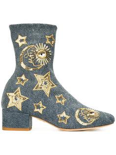 ботинки с пайетками Chiara Ferragni