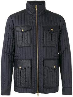 дутая куртка на молнии Moncler Gamme Bleu