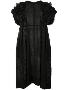 платье с оборками Comme Des Garçons Tricot