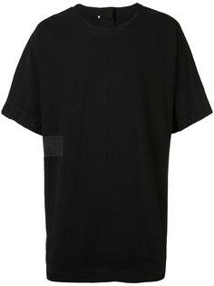 футболка с панельным дизайном Ziggy Chen
