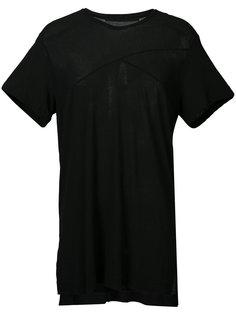 объемная футболка с V-образным вырезом Julius