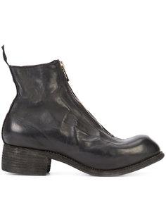 ботинки с молнией спереди Guidi