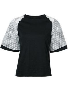 многослойная футболка Facetasm