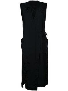 платье с завязками Facetasm