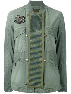 куртка-бомбер с отделкой  Mr & Mrs Italy