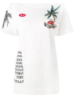 футболка с принтом Mr & Mrs Italy