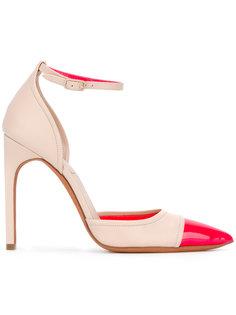 туфли с контрастным носком Givenchy