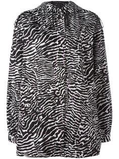 куртка с зебровым принтом Giamba
