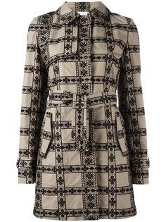 пальто с панельным дизайном Giamba