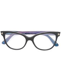 """очки с оправой """"кошачий глаз"""" Tom Ford Eyewear"""