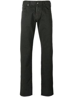 брюки средней посадки Armani Collezioni