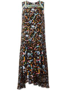 платье с принтом Jewel Peter Pilotto