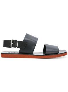 сандалии с ремешком Marni
