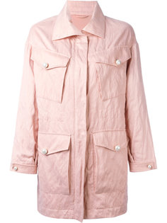 пальто на молнии с карманами Ermanno Scervino