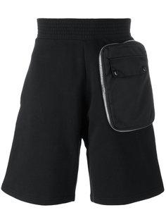 шорты-бермуды с карманом на молнии Givenchy