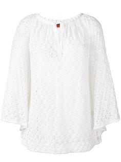 трикотажная блузка на завязках Missoni