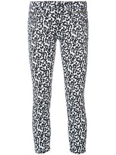джинсы с леопардовым принтом Biker Boy R13