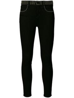 джинсы с заклепками на поясе Lagence