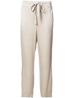 прямые спортивные брюки со стяжкой Vince