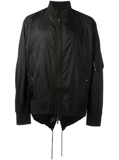 куртка бомбер на завязках Diesel Black Gold