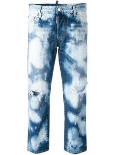 джинсы Tomboy с выцветшим эффектом Dsquared2