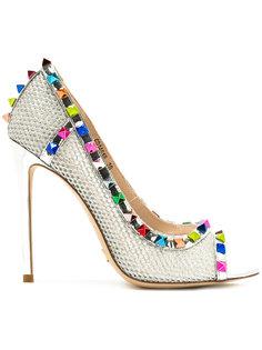 туфли с открытым носком Gianni Renzi