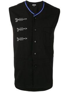 свитер с рисунком стрел без рукавов Lanvin