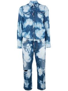 джинсовый комбинезон Dsquared2