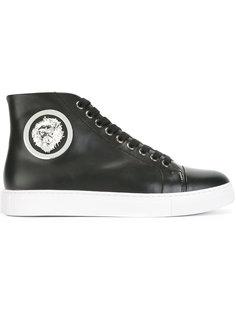 кроссовки с логотипом-львом Versus