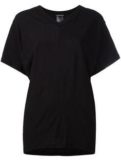 футболка с открытой спиной  Ann Demeulemeester