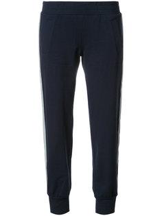 спортивные брюки со светоотражающими полосками по бокам Norma Kamali