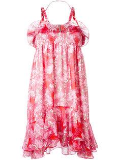 платье с цветочным принтом Carven