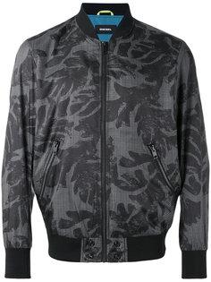 куртка бомбер с принтом Diesel