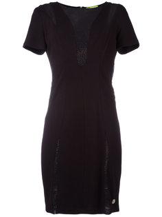 платье с круглым вырезом Versace Jeans