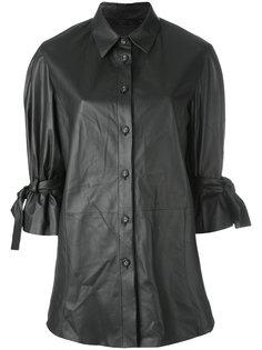 одноцветная рубашка Drome