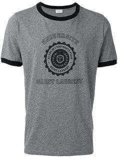 футболка Saint Laurent Université Saint Laurent