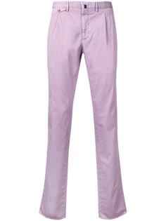брюки строгого кроя Incotex