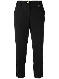 классические укороченные брюки Versace Jeans