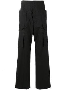 костюмные брюки-карго Rick Owens
