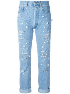 декорированные джинсы Vanessa Forte Couture