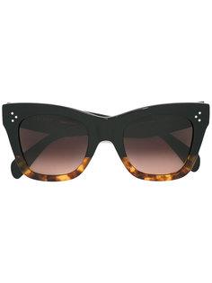 солнцезащитные очки с градиентным узором Céline Eyewear