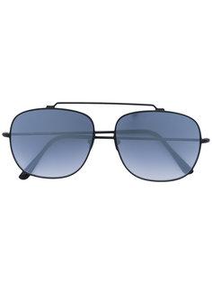 солнцезащитные очки в закругленной квадратной оправе Spektre